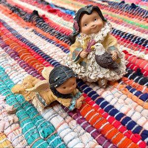 Vintage | Native American Girl Knickknacks